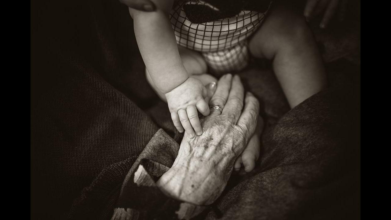 Mensagem de Feliz Ano Novo para avó!