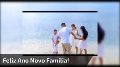 Mensagem De Feliz Ano Novo Para Família! Deus Abençoe Cada Um De Vocês!