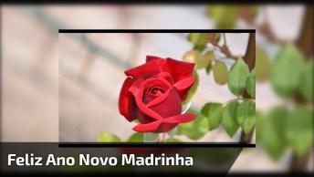 Mensagem De Feliz Ano Novo Para Madrinha. Você É Muito Especial Em Minha Vida!