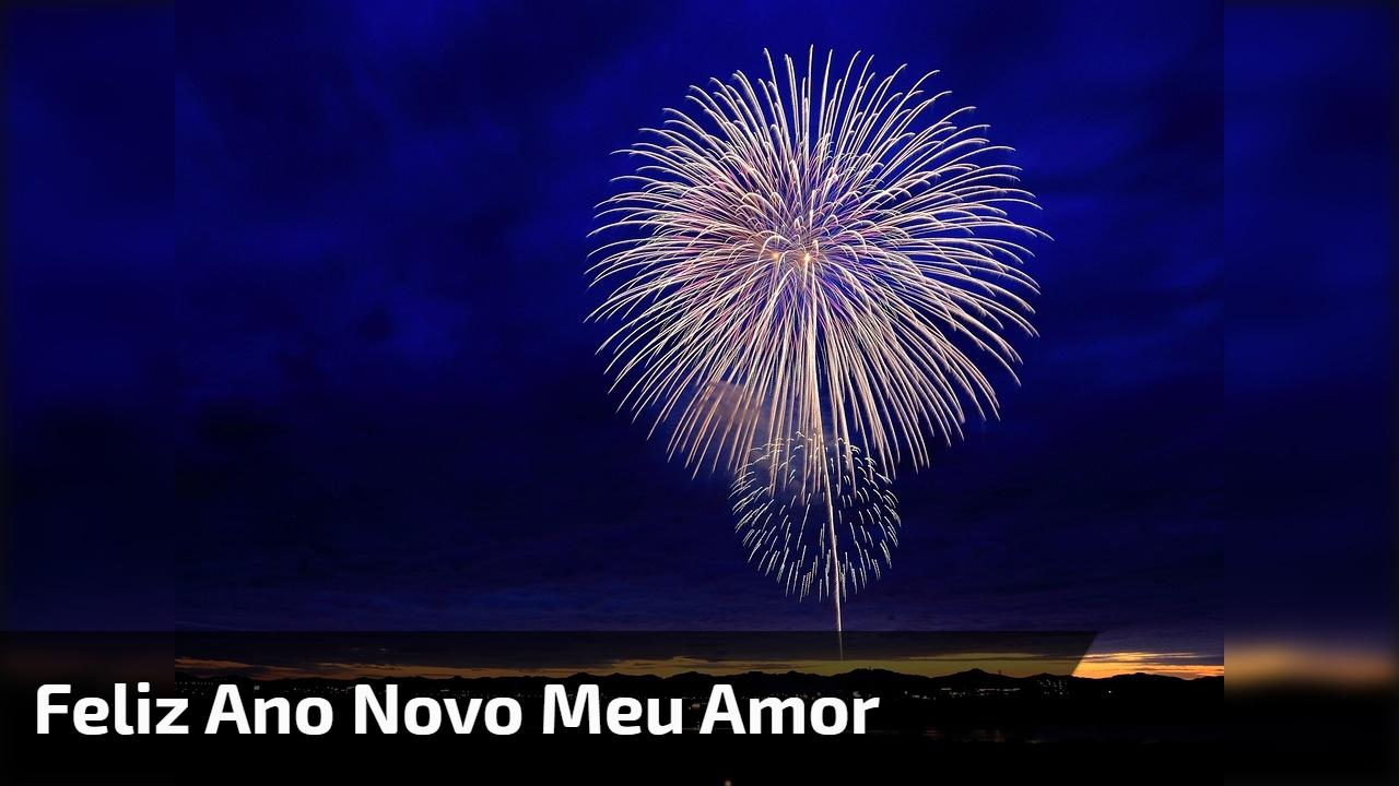 Mensagem de Feliz Ano Novo para namorado. Você deixa tudo mais colorido!!!