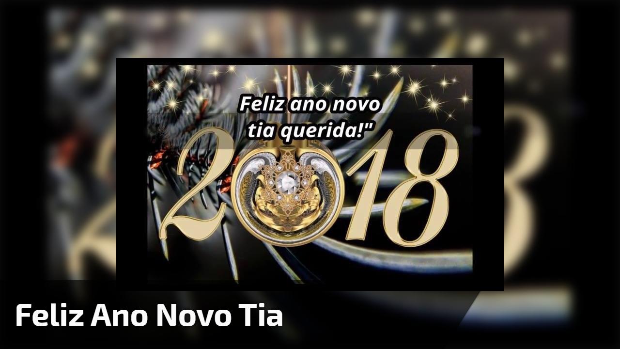 Feliz Ano Novo tia