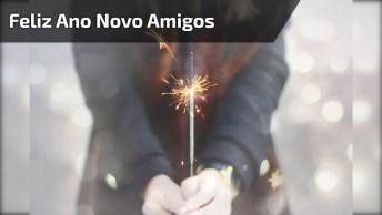 Mensagem De Feliz Ano Novo Pra Enviar Para Amigos Do Wechat!