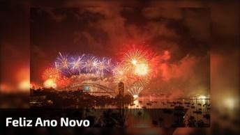 Mensagem De Feliz Ano Novo! Que Este Ano Seja Cheio De Vitorias!