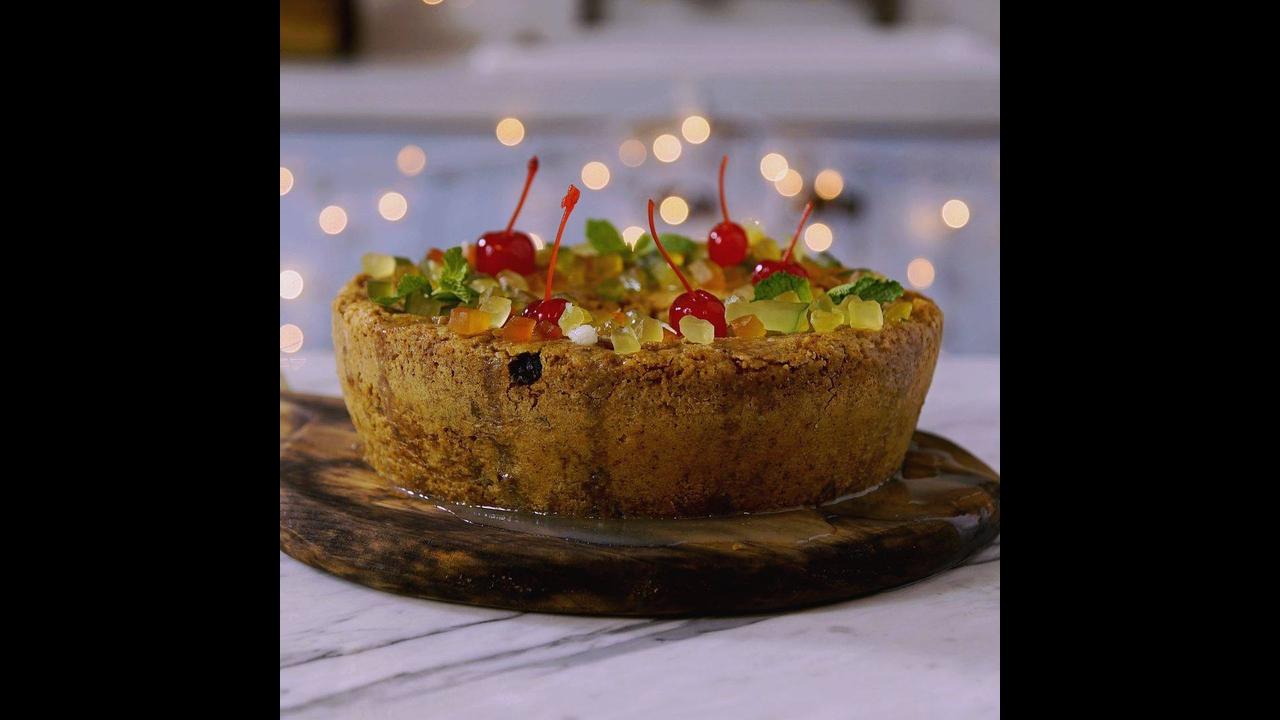 Receita de bolo para Réveillon!