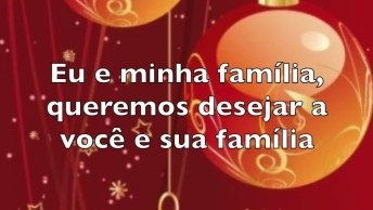 Vídeo Com Linda Mensagem De Feliz Ano Novo Para Compartilhar Com Todos Amigos!