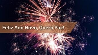 Vídeo Com Mensagem De Feliz Ano Novo Para Enviar Na Virada De Ano!