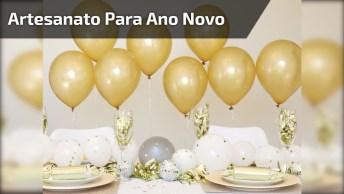 Vídeo De Decoração Para Ano Novo, Confira Só Que Ideia Super Legal!