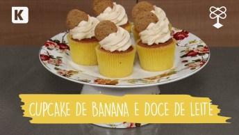Videos De Ano Novo Com Receita De Cupcake De Banana E Doce De Leite!