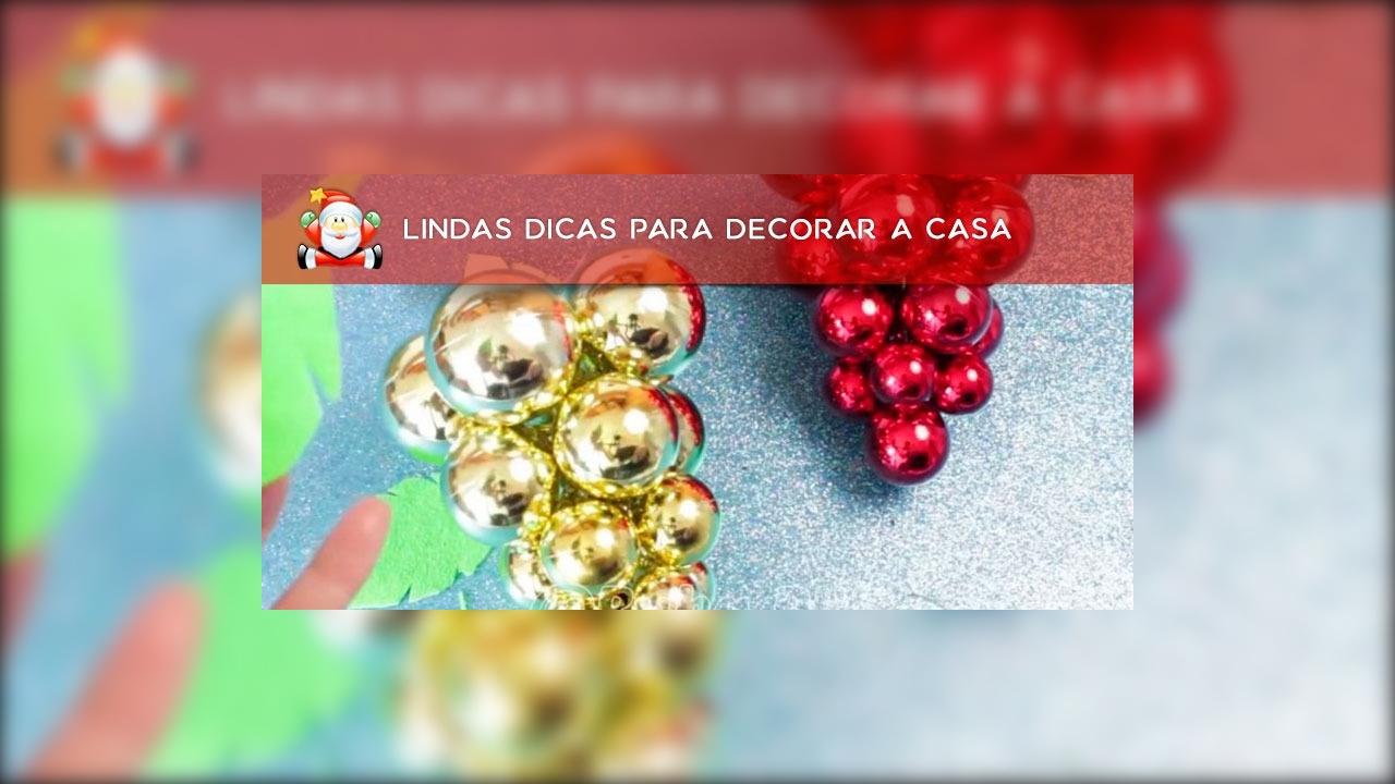 8 Ideias de decorações para o Natal