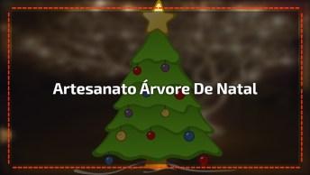 Aprenda A Fazer Uma Linda Árvore De Natal Usando Galho Seco!