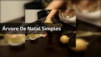 Aprenda O Passo A Passo Para Fazer Sua Árvore De Natal Simples E Diferente!