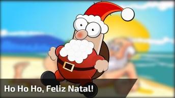 Charge De Maurício Ricardo Com Paródia De Natal, 'Ho Ho Ho Feliz Natal!