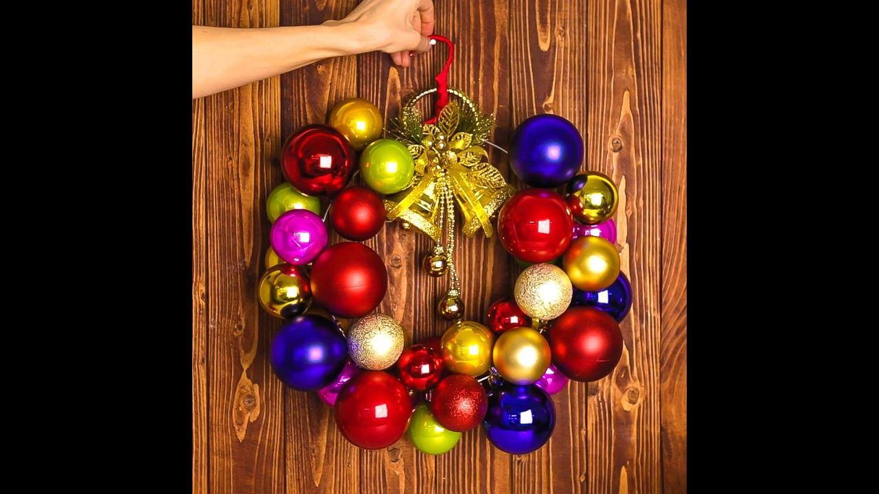Enfeites de Natal de artesanato