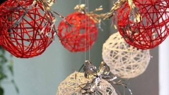 Enfeites De Natal Fáceis De Fazer Passo A Passo - Sua Casa Vai Ficar Linda!