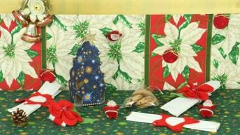 Enfeites De Natal Para Fazer Com Caixa De Leite E Feltro, Confira!