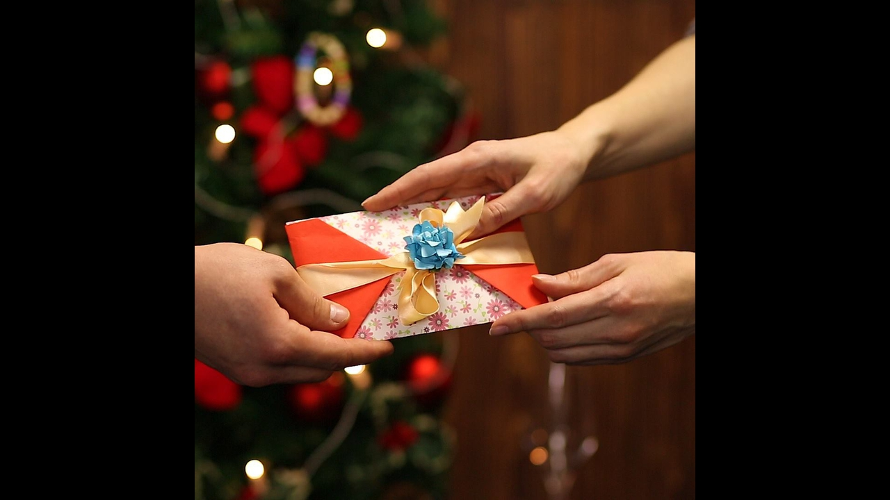Envelope para presentear nesse Natal