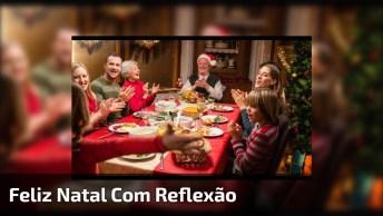 Feliz Natal Com Linda Mensagem De Reflexão Sobre Verdadeiro Sentido Do Natal!