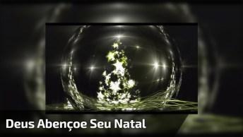 Feliz Natal Com Mensagem De Chico Xavier. Deus Abençoe Cada Um De Vocês!