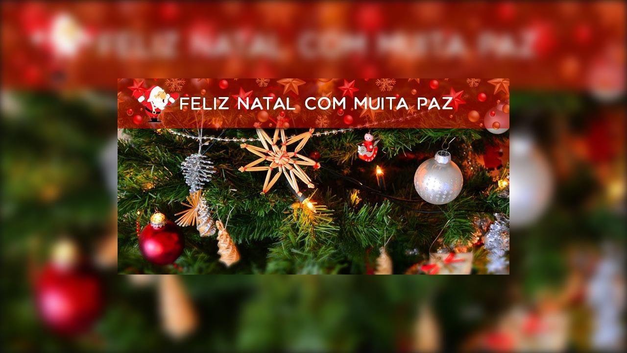 Feliz Natal com muita paz, harmonia e amor para todos