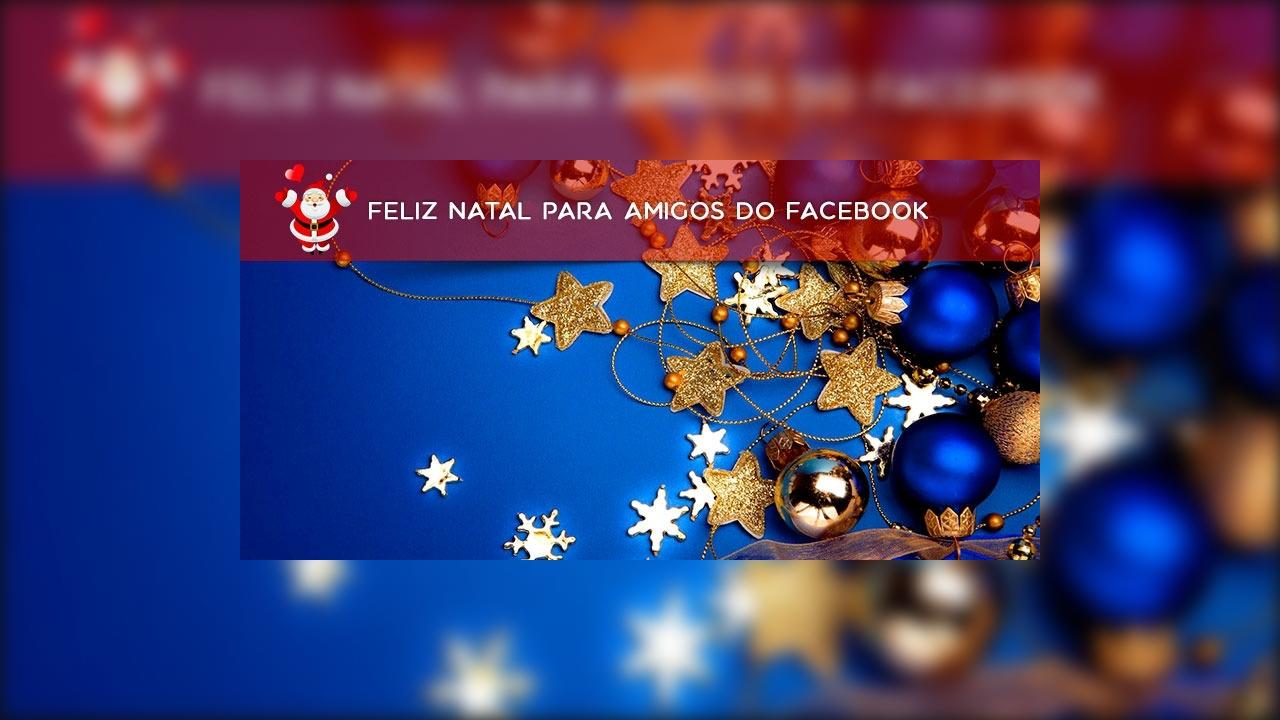Feliz natal para amigos do Facebook