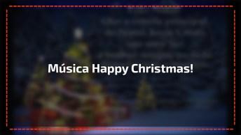 Feliz Natal Para Uma Pessoa Especial Com Música Happy Christmas!