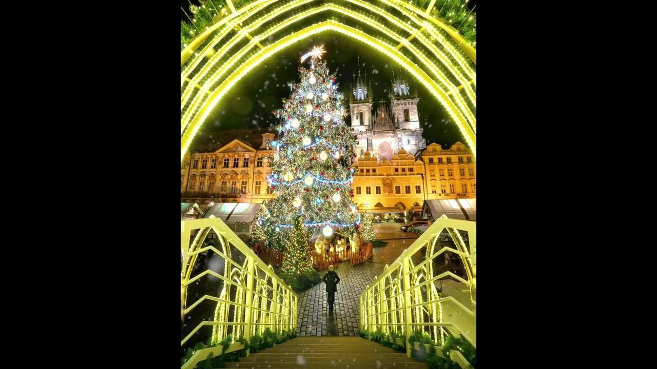 Imagem de Árvore de Natal para postar no Facebook e colocar uma linda mensagem