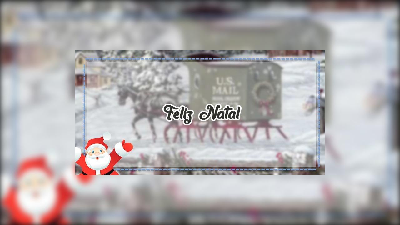 Imagem de Natal que se move para compartilhar no Facebook