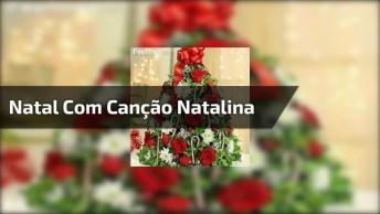 Imagens De Natal Com Canção Natalina, Compartilhe Nas Redes Sociais!