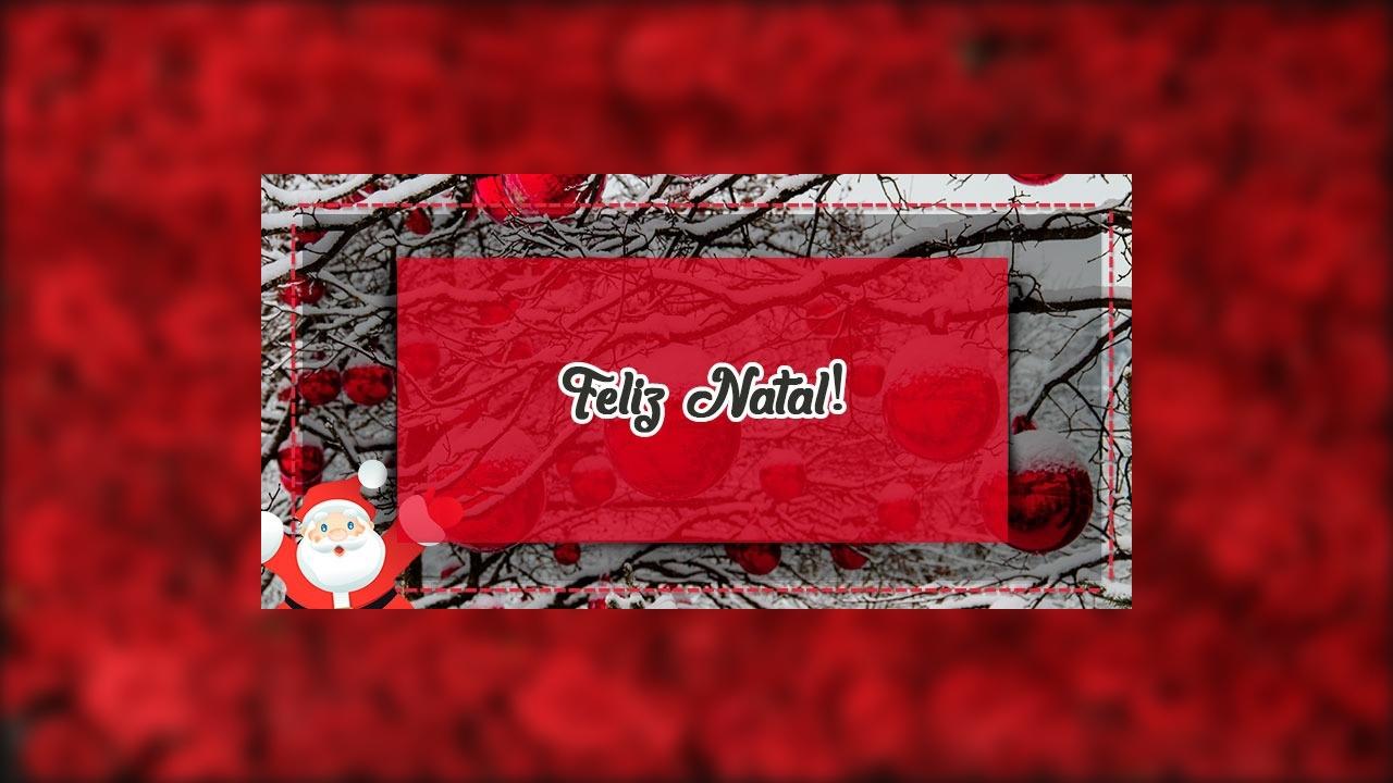 Mensagem de Feliz Natal a todos