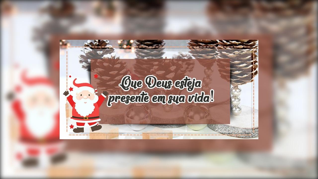 Mensagem de Feliz Natal e Feliz Ano Novo