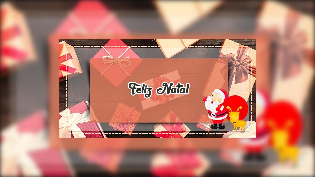Mensagem de Feliz Natal em harmonia e ano novo com conquistas