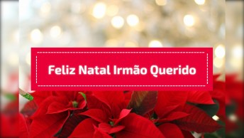 Mensagem De Feliz Natal Irmão Querido, O Seu Melhor Amigo!