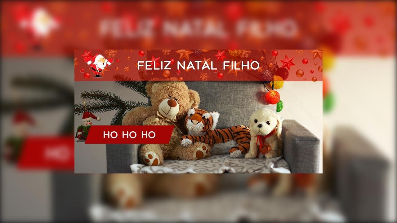 Mensagem de Feliz Natal para filho!