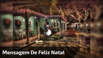 Mensagem De Feliz Natal Para Grupos Do Whatsapp, Envie Agora Mesmo!