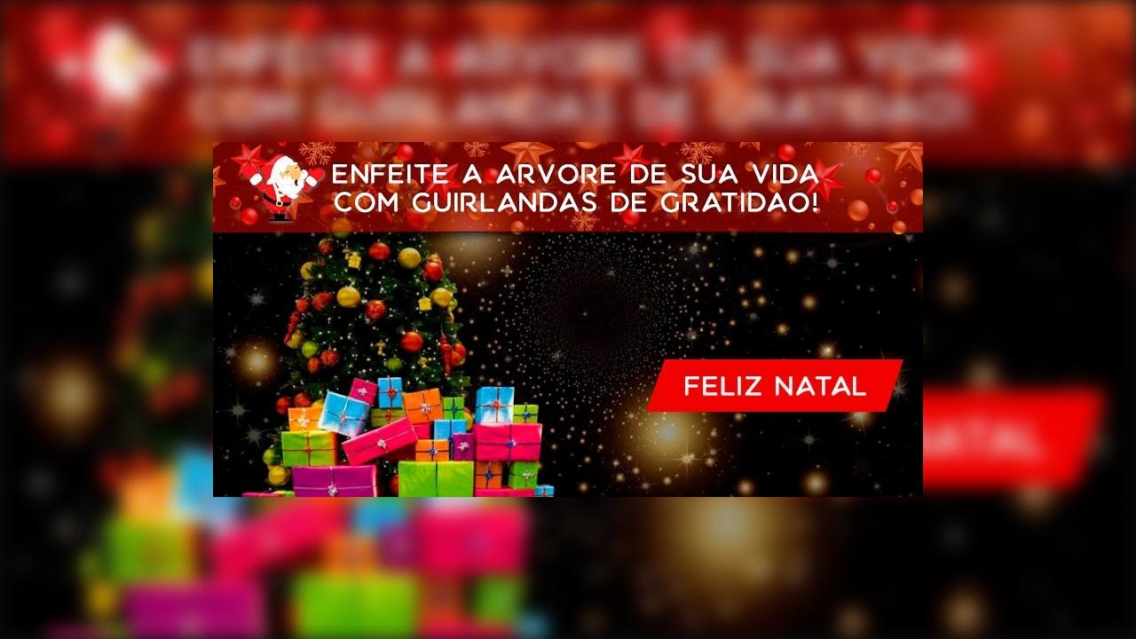 Mensagem de Feliz Natal para todas amizades de sua vida