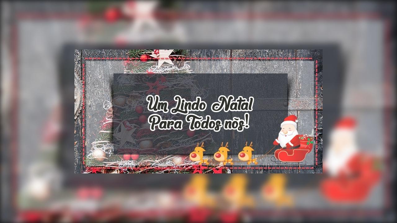 Mensagem de Natal a família