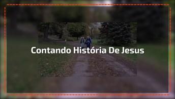 Mensagem De Natal Com Crianças Contando História De Jesus, Confira!