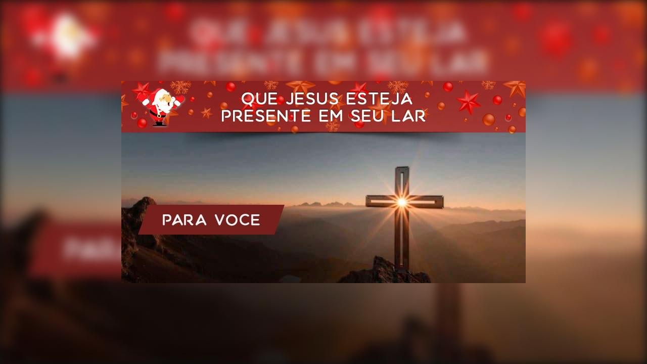 Mensagem de Natal Cristão!