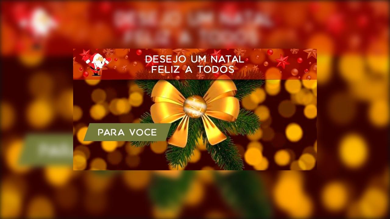 Mensagem de Natal e Ano Novo para amigos!