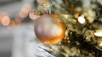 Mensagem De Natal E Ano Novo - Um Ano Cheio De Alegrias E De Flores!