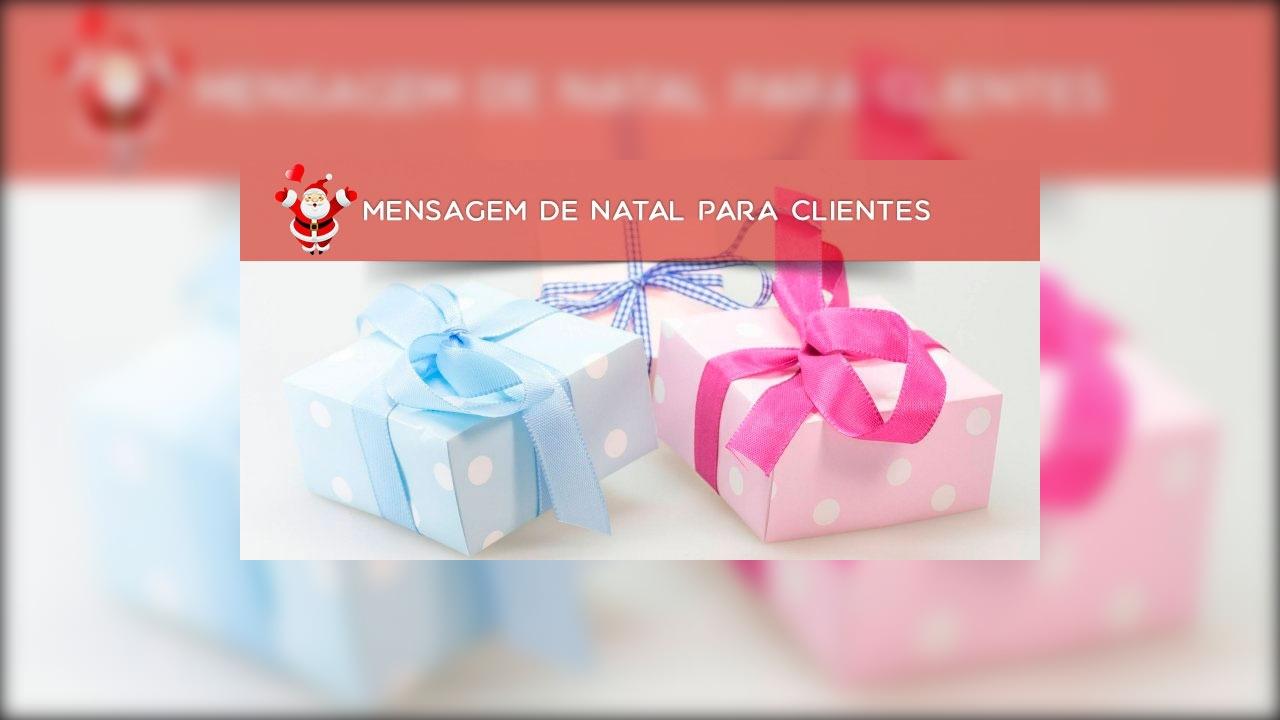 Mensagem de Natal para Clientes - Envie pelo Whatsapp!!!