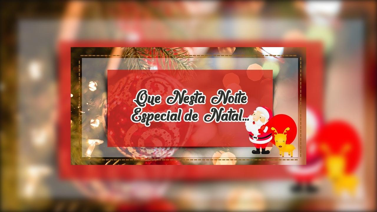 Mensagem para Noite especial de Natal