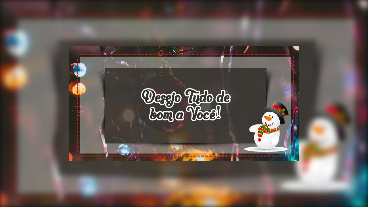 Mensagens de feliz natal bonita