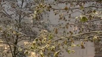 Natal Em Nova York - Muito Frio E Muita Neve, Entre No Clima Do Natal!