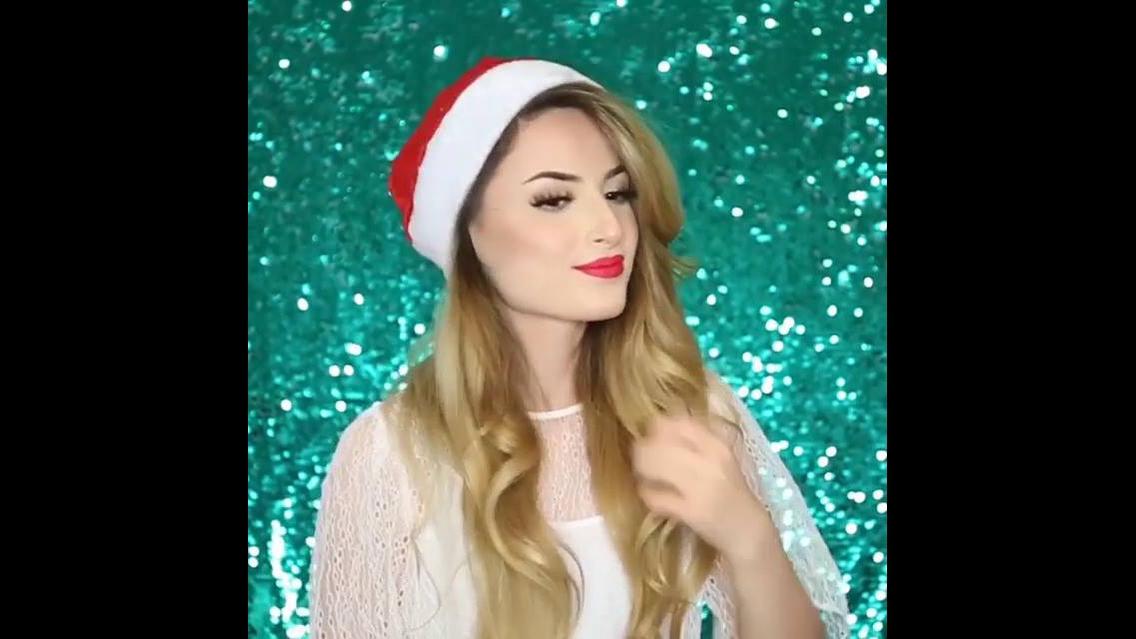 Penteado de Natal para você arrasar na noite natalina