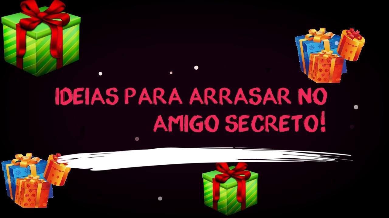Presentes amigo secreto 50 reais Feminino