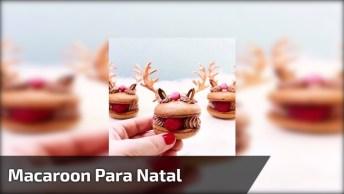 Receita Natalina De Renas Comestíveis, Para Deixar Sua Ceia Mais Sofisticada!