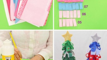 Tutorial De Árvore De Natal De Mesa Para Decorar Sua Casa!