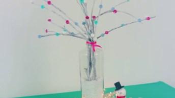 Tutorial De Árvore De Natal Não Convencional, Vale A Pena Conferir!