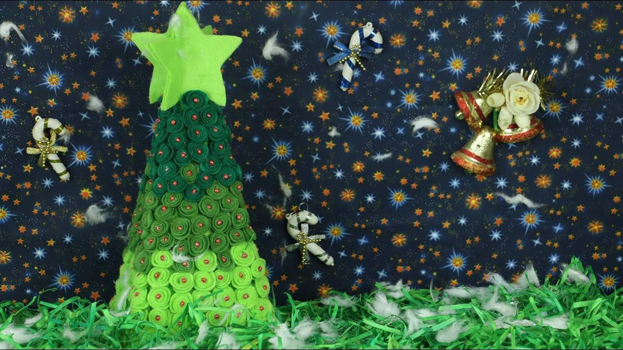 Tutorial de arvore de Natal para enfeitar sua casa